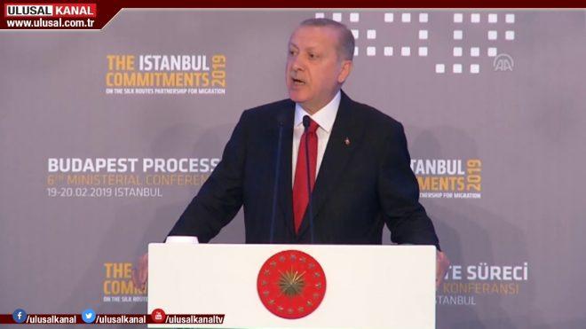 Erdoğan, soykırım yalanlarına tepki gösterdi.