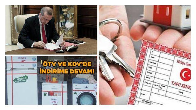 SON DAKİKA ÖTV VE KDV İNDİRİMİ UZATILDI 2019 - Antalya Video Tv