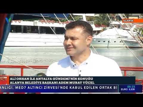 ALİ ORHAN İLE ANTALYA GÜNDEMİ-ALANYA 17.06.2019