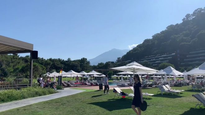 2019 6/5 Turkey Antalya MAXX ROYAL Kemer ビーチ