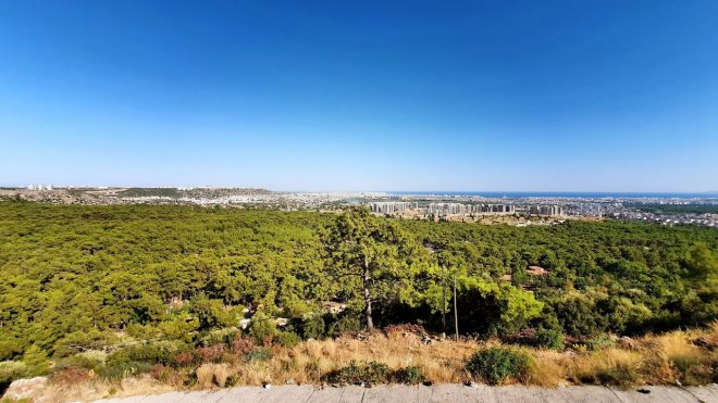 Muhteşem Antalya Manzarası Kepez seyir terasından Antalya şehri görünümü – Antalya Gezi Tatil