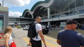 Sabiha Gökçen Uluslararası Havalimanı Gelen Yolcu Çıkışı İstanbul Airport Anadolu Yakası Havaalanı