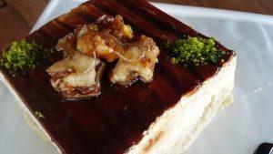 Pasta Sunum Örnekleri Pasta Tabağı Süslemesi -Tiramisu Sunumu