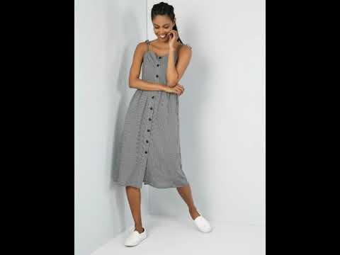 Yazlık Kıyafet Kombinleri 2019 Yazlık Bayan Elbise Etek Gömlek Pantolon Modelleri Çeşitleri