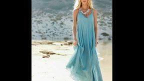 Yazlık Kıyafetler Bayan 2019 Kadın Moda Bayan Elbiseler Elbise Kombin Modelleri Çeşitleri