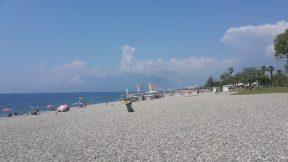 Antalya Beach Park Deniz Manzarası - Antalya Plajları Gezi Tatil