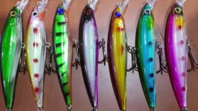 Rapala Modelleri Balık Av Malzemeleri Sahte Suni Silikon Yem Modelleri