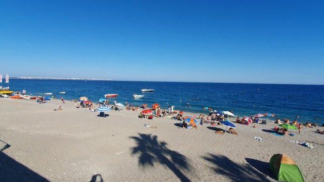Antalya Plajları Deniz Manzarası Konyaaltı Beach Gezi Tatil Yerleri