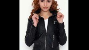 Bayan deri ceket modelleri 2019 Bayan deri ceketler kadın moda bayan giyim aksesuar kombin çeşitleri