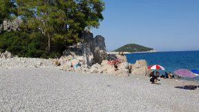 Çaltıcak Plajı Deniz Manzarası Antalya Piknik Mangal Yerleri Mesire Alanları Gezi Tatil