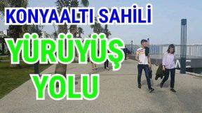Konyaaltı Sahili Yürüyüş Yolu Park Alanları Antalya Tatil Gezi Tur Holiday