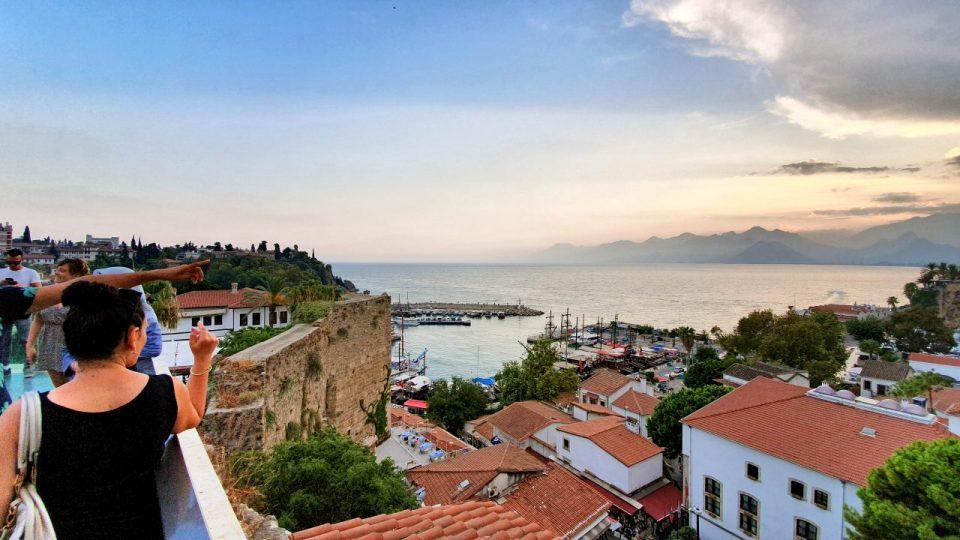 Antalya Ataturk Meydani Deniz Manzarasi (3)