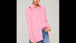 Yazlık Bayan Gömlek Modelleri 2019 Yaz Modası Bayan Kıyafetleri