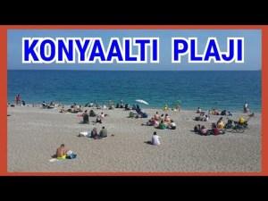 Konyaaltı Plajları Antalya Sahilleri Deniz Manzarası Gezi Tatil Tur