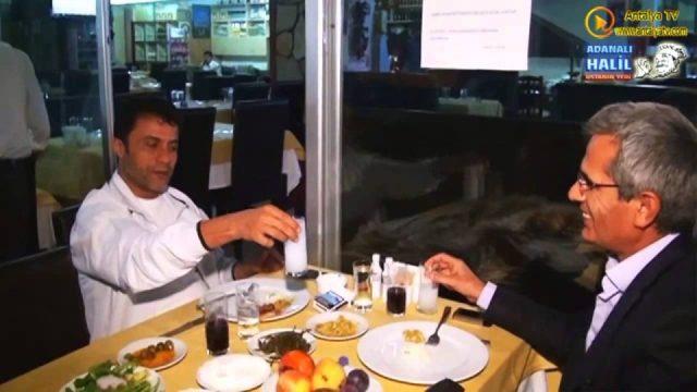 Grida ve Hamsi - Adanalı Halil Usta Et Balık - Antalya Balıkevi Ocakbaşı Restaurant