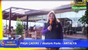 Antalya Atatürk Parkı Kahvaltı Restaurant Paşa Çadırı