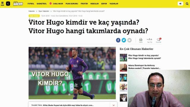 Vitor Hugo kimdir ? Vitor Hugo kaç yaşında ? Vitor Hugo hangi takımlarda oynadı?