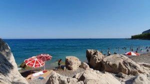 Küçük Çaltıcak Mesire Alanı Deniz Manzarası Antalya Gezi Tatil