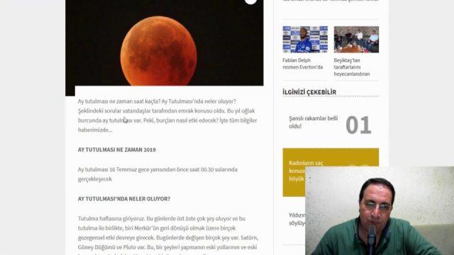 Ay Tutulması Ne Zaman Temmuz 2019 - Ay Tutulması ve Burçlar - Google Trends