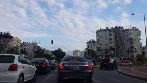 Meydan Kavşağı Burhanettin Onat Caddesi - Sampi Kavşağı - Antalya Şehiriçi Şehir Merkezi Gezi Tatil