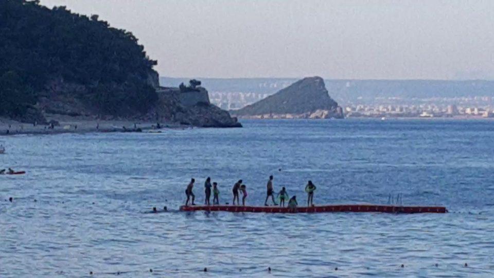 Kargıcak Sahilinden Sıçan Adası Manzarası – Antalya Gezi Tatil Tur