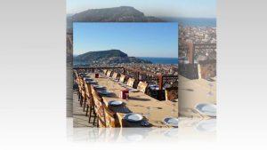 Alanya Yemek Organizasyonu 0242 522 00 58 grup toplantı özel gün yemekleri büyük restaurntlar