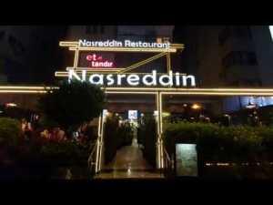 Antalya Tandır Restoran - Nasreddin Et Tandır