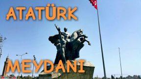 Antalya Atatürk Meydanı Kaleiçi Yat Limanı Yivli Minare Manzarası Yürüyüş Videosu