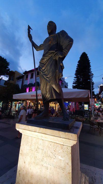Saat Kulesi Antalya Kale Kapi Kapali Yol Manzarasi (7)