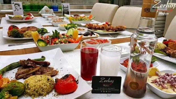 Antalya Zerhoş Meyhane 0507 558 48 11 canlı müzik gece mekanları en iyi restaurant
