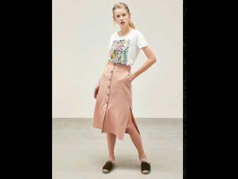 Bayan Etek Modelleri Yazlık Etek Çeşitleri Kadın Moda Bayan Giyim Kombin