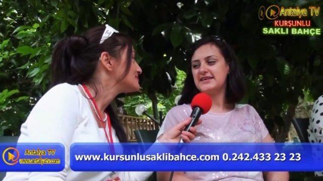 Saklı Bahçe - Kurşunlu Antalya Kahvaltı Et Mangal Doğal Güzellikler Gezilecek Yerler