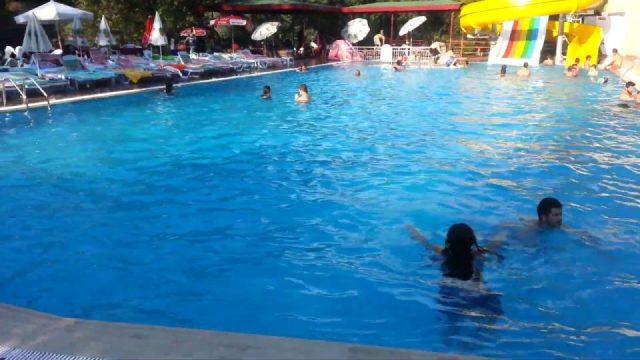 Alanya Dimçayında Havuz Keyfi - Ada Piknik Restaurant Alanya Gezi Tatil Tur