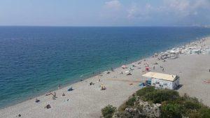 Antalya Varyanttan Plaj ve Deniz Manzarası - Antalya Gezi Tatil