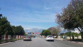Antalya Şehir İçi Yüzüncü Yıl Cam Piramit Konyaaltı İstikameti Şehir Merkezi Gezi Tatil Tur