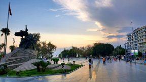 Antalya Atatürk Meydanı Kaleiçi ve Deniz Manzarası - Ücretsiz Fotoğraflar