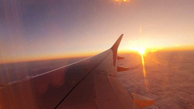 Günbatımı Manzarası - Pegasus İstanbul Antalya Uçuşu Gün Batımı