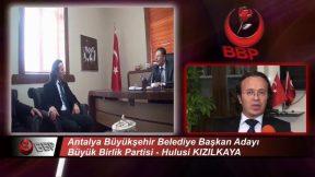 Antalya Sanayi Şehri Olabilecek mi ? - Hulusi Kızılkaya BBP Antalya Adayı