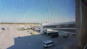 Antalya Havalimanı Sigara İçme Alanı Manzarası - Antalya Havaalanı Gezi Tatil