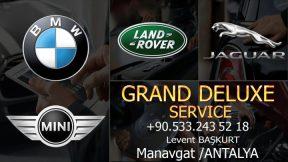 Grand Deluxe Service Manavgat BMW Mini Land Rover Jaguar oto servisi - 0533 243 52 18