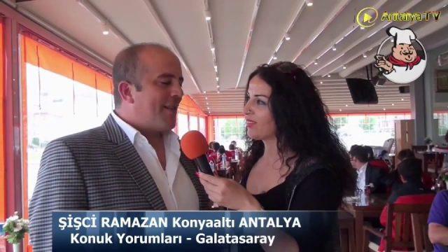 Şişci Ramazan Galatasaray Kulübü Ziyareti Antalya 2014