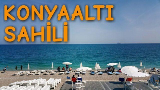 Özleyenler için Antalya Konyaaltı Plaj Deniz Manzarası Muhteşem Antalya Tatil Holiday