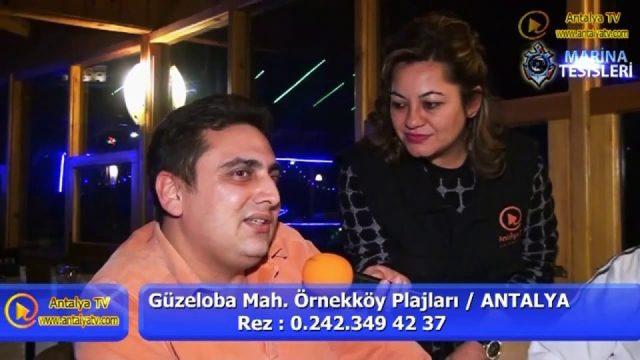 Marina Restaurant - Antalya Balıkevi - Örnekköy Lara Antalya Geceleri Eğlence Mekanları