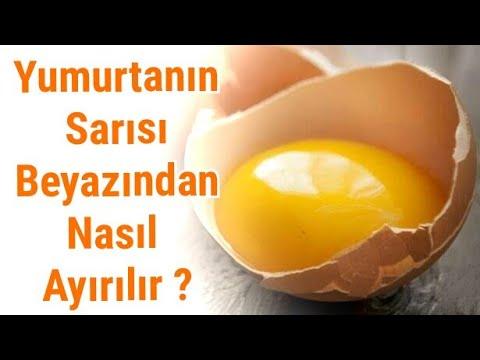 Yumurtanın sarısı beyazından nasıl ayırılır ? - Pratik Bilgiler
