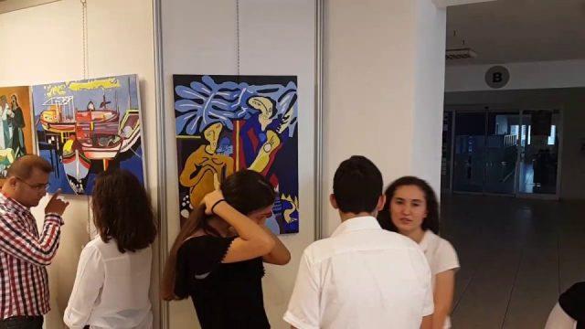 Aldemir Atilla Konuk Anadolu Lisesi Resim Sergisi - 1