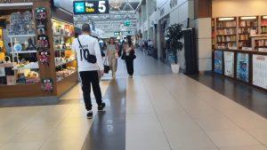 Antalya havalimanı iç hatlar yolcu terminali - Antalya Airport - Antalya havaalanı