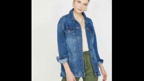 Bayan Kot Ceket Modelleri 2019 Bayan Giyim Moda Kot Ceketler Jean Ceket Çeşitleri