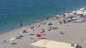 Konyaaltı Plajını Seyredin - Antalya Gezi Tatil