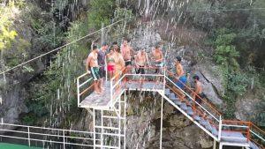 Alanya Dimçayı Eğlence Cennet Vadisi'nde Su Keyfi