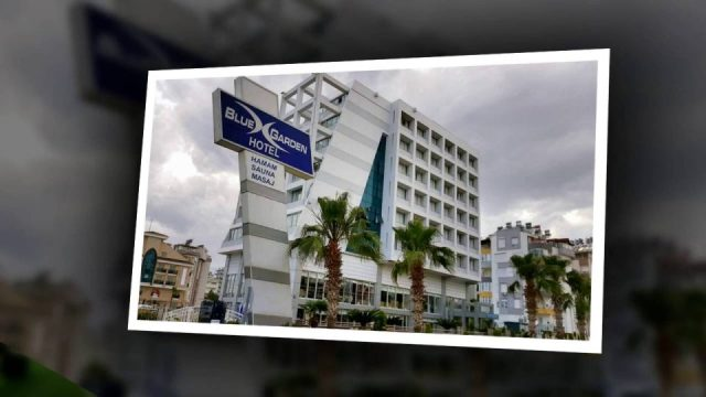 Antalya Şehir Merkezinde Oteller - 0 242 228 8900 Blue Garden Hotel Antalya Sahilde Uygun Otel